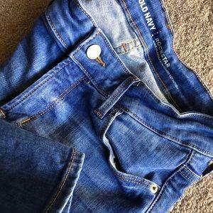 OLD NAVY — rockstar skinny jeans — size 4